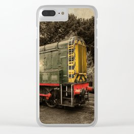 Severn Valley Gronk Clear iPhone Case