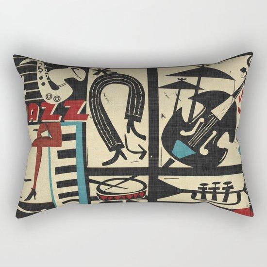 Jazzz Rectangular Pillow