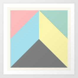 Ultra Geometric VIII Art Print