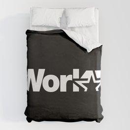 Work Duvet Cover