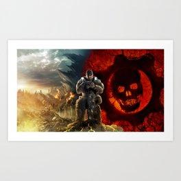 Gears Of War 07 Art Print