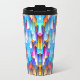 Colorful digital art splashing G397 Travel Mug
