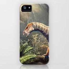 Iguanodon Bernissartensis Restored iPhone Case