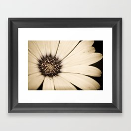 White Chocolate Framed Art Print