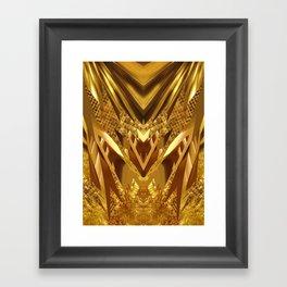 DRAGON'S GOLD Framed Art Print