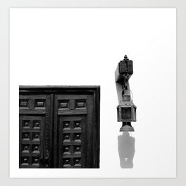 Light and Exit Art Print