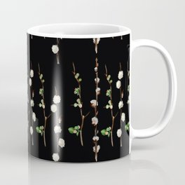 Willow Quince Stems Pattern Coffee Mug