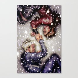Sokovian Snowfall Canvas Print