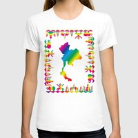 thailand T-shirts featuring Rainbow Thailand by FACTORIE