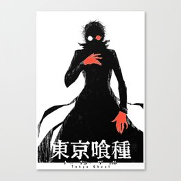 Kaneki Black Reaper Canvas Print