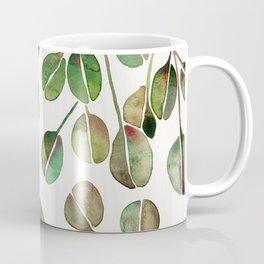 Silver Dollar Eucalyptus – Green Palette Coffee Mug