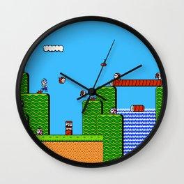 Super Mario Bros 2 Wall Clock