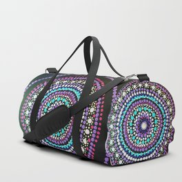 Dotted Mandala Duffle Bag