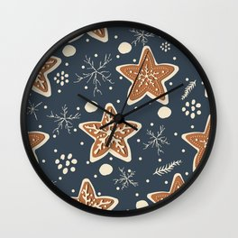 Gingerbread Cookies Wall Clock