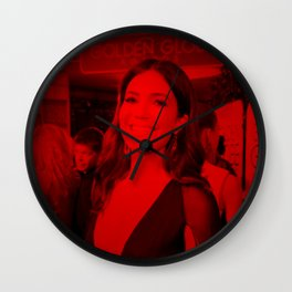 Mandy Moore - Celebrity (Photographic Art) Wall Clock