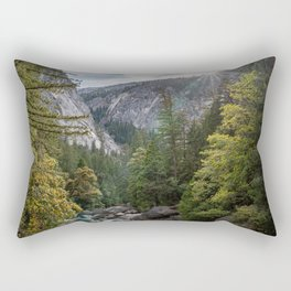 Through the Valleys Rectangular Pillow