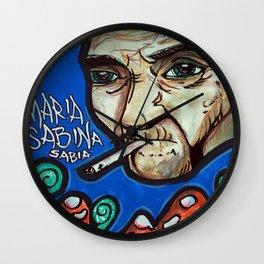 Maria Sabina Wall Clock