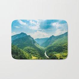 Landscape - Green Mountains  Bath Mat