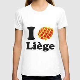 I Gaufre Liege - I waffle Liege T-shirt