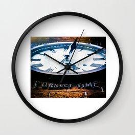 Correct Time Wall Clock