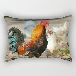 Cock a Doodle Doo! Rectangular Pillow