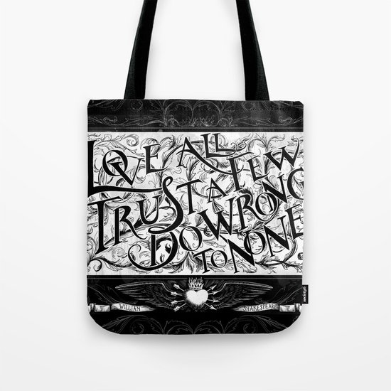 Love All Tote Bag