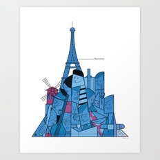 Paris Art Print