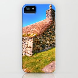 Gearrannan, Isle of Lewis iPhone Case