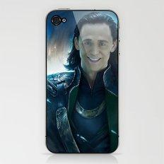 Smile Loki iPhone & iPod Skin