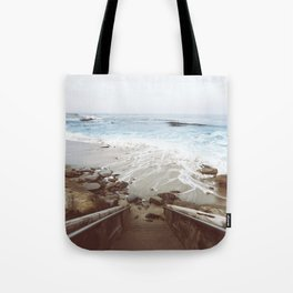 Step into the water LaJolla Cove San Diego Tote Bag