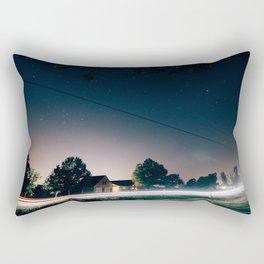 Night Sky 02 Rectangular Pillow