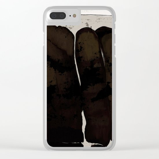 UNTITLED#83 Clear iPhone Case