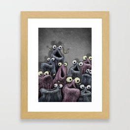 Yip Yip Framed Art Print