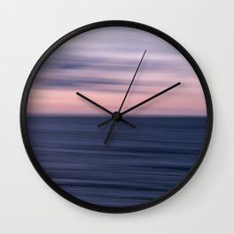 An Ocean Abstract Wall Clock
