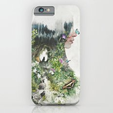 Cat in the Garden of Your Mind iPhone 6s Slim Case