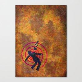 Heartshock Canvas Print
