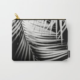 Palm Leaves Black & White Vibes #2 #tropical #decor #art #society6 Carry-All Pouch