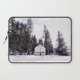 Tiny Cottage in the Middle of Banff Laptop Sleeve