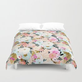 Florence Painterly Floral Duvet Cover