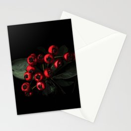 Bright Red fruits - 128 Stationery Cards