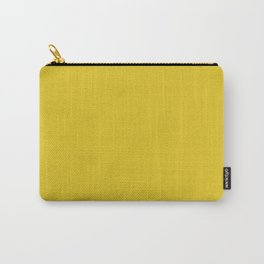 Gold Yellow Saturated Pixel Dust Carry-All Pouch