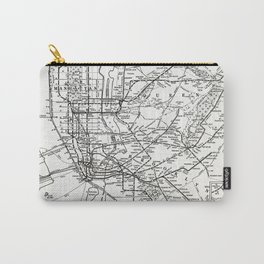 New York City Rapid Transit System Map Carry-All Pouch