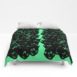 All-Over Tortoiseshell Kitty Stamp Comforters