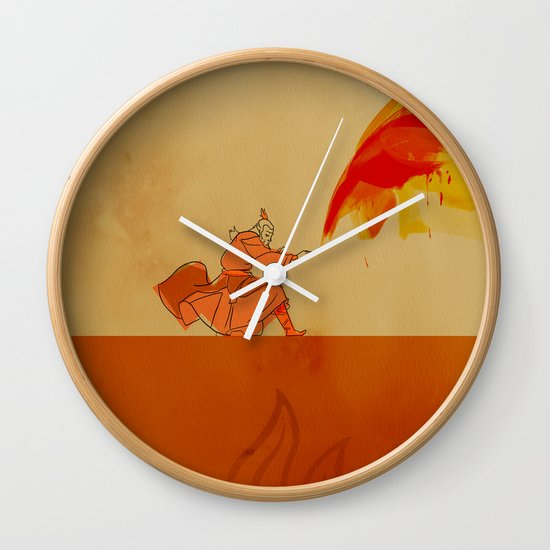 Avatar Roku Wall Clock