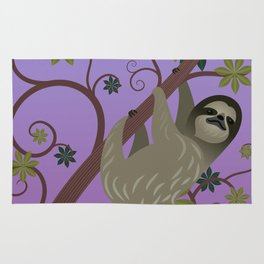 Sloth in a Tree Rug