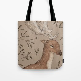 The Fallow Deer and Oats Tote Bag