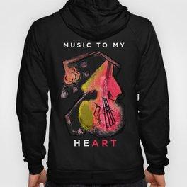 - Music to my HeART Hoody