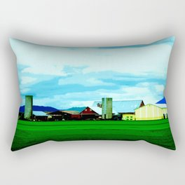 All At Once We Had It In For The Sky Rectangular Pillow
