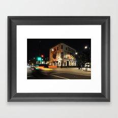 London Barfly Framed Art Print