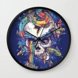 Strangely familiar Wall Clock